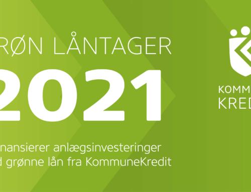 Fjernvarmeselskaberne i Hvidovre modtager grønt certifikat af Kommunekredit
